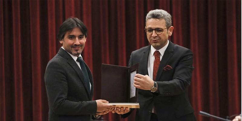 Kadir Çivici'ye Kültür ve Turizm Bakanlığı'ndan ödül