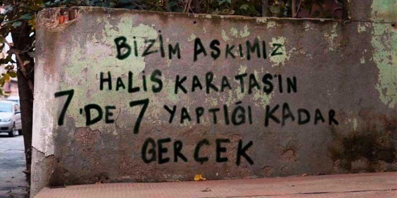 ÇUKUR'dan Halis Karataş'a Jest