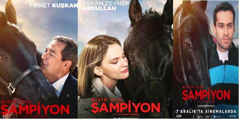 Bizim İçin ŞAMPİYON, 07 Aralık Cuma günü sinemalarda