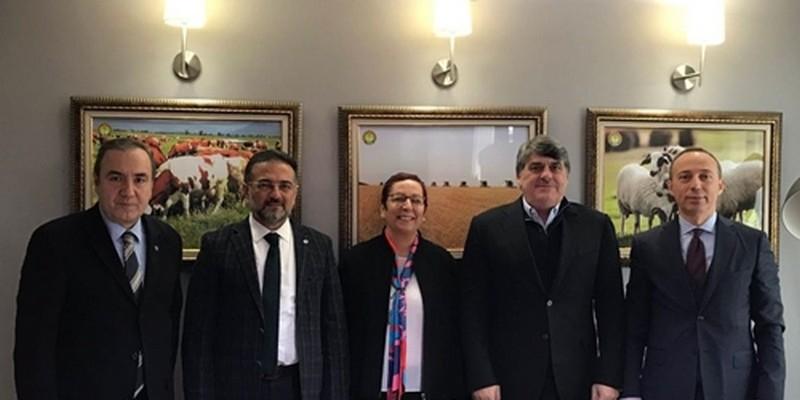 TJK Başkanı Serdal Adalı, TİGEM Genel Müdürü
