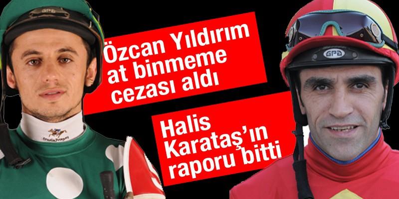 Özcan Yıldırım 28/12/2018 ile 03/01/2019 tarihleri arası at binmeme cezası almıştır