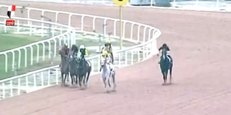 Adana Yarış Komiserleri favori at faul yaptığı için