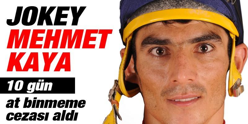 Mehmet KAYA, 10 gün at binmeme cezası aldı