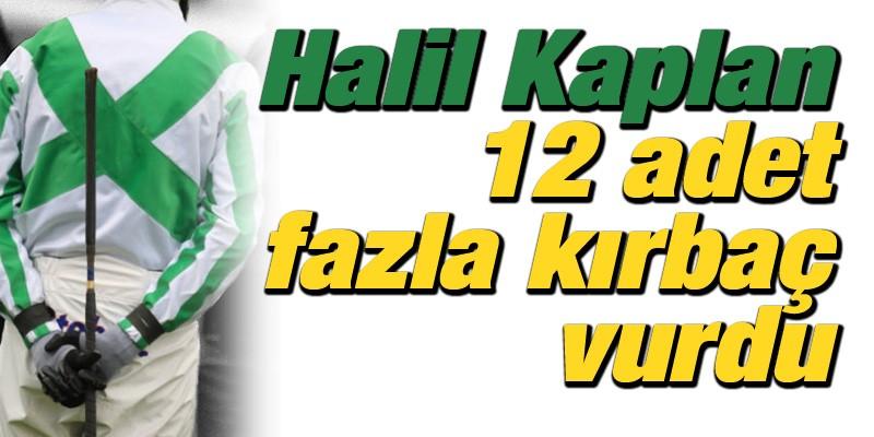 Halil Kaplan 12 adet fazla kırbaç vurdu