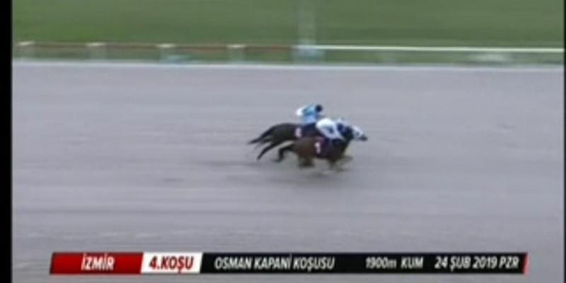 Osman Kapani koşusunu  EL NİNO kaybetmedi Karataş kötü bindi
