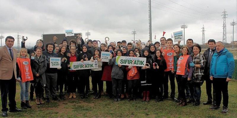 """Türkiye Jokey Kulübü'nden """"Evlat Aşkına Sıfır Atık"""" Projesine Destek"""