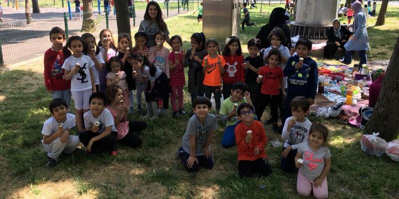 İstanbul Hipodromu Çocuk Oyun Parkı Kauçuk Zemininin Yenilenmesi