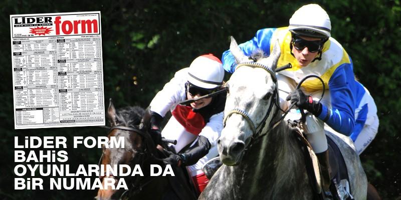At yarışında kazanmanız için tüm faktörleri bir araya getiren bilgi hazinesi LİDER FORM Gazeteniz