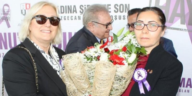 12 Mart Adana Yeşiloba Hipodromu Özgecan Aslan adına