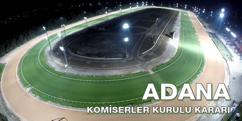 2 Mart Cumartesi günü Adana Yeşiloba Hipodromu Başla biten 6.koşuya protesto çekildi.