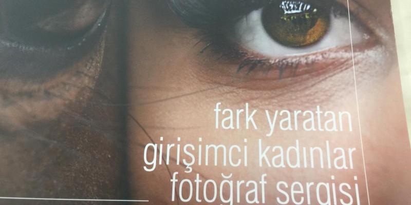 Fark Yaratan Girişimci Kadınlar Fotoğraf Sergisi,Akatlar kültür merkezinde ziyarete açıldı.