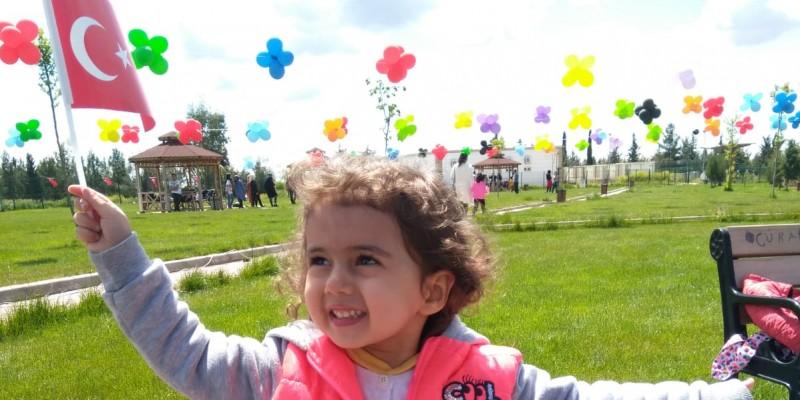 23 Nisan Ulusal Egemen Çocuk Bayramı Şanlıurfada böyle kutlandı.