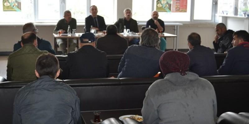 Bursa Osmangazi Hipodromu'nda bilgilendirme toplantısı gerçekleştirildi