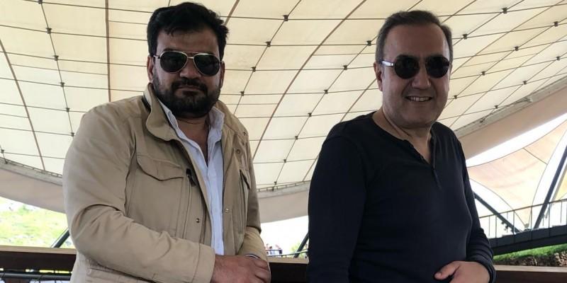 Hakan Yücetürk ve Mahmut Çadırcı Şanlıufda Gobeklıtepede
