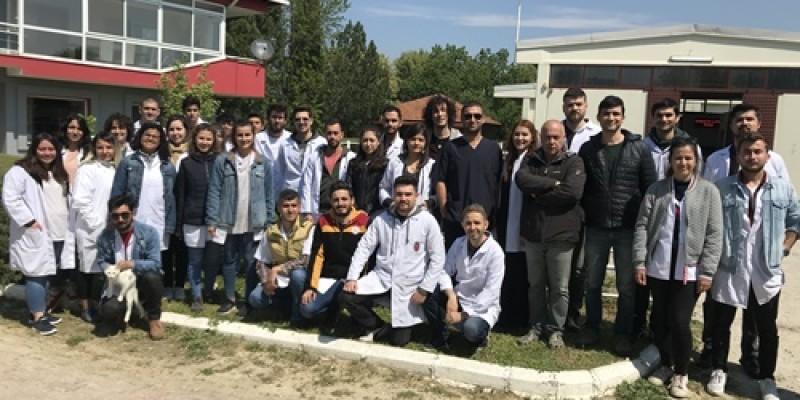 AMÜVF öğrencileri TJK Torbalı Aşım İstasyonumuzu ziyaret etti