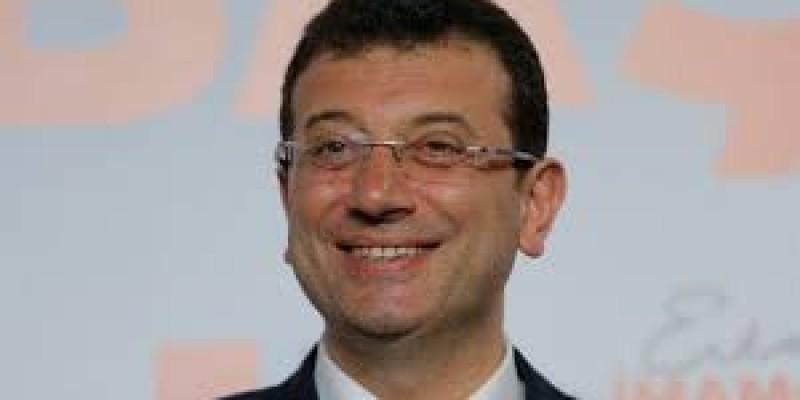 İstanbul Büyükşehir Belediye Başkanı Ekrem imamoğlu 24 Nisan Çarşamba günü Veliefendi Hibodromunda.