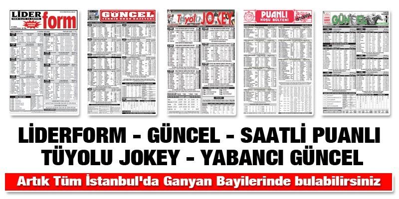 Artık İstanbul'da Tüm bayiilerde