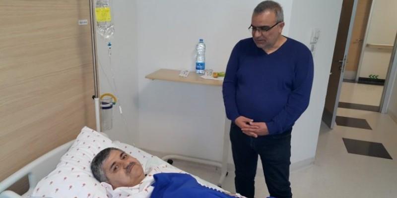 Şanlıurfa Hibodrom  Müdürü MEHMET KAZOĞLU Başarılı Bir Operasyon geçirdi