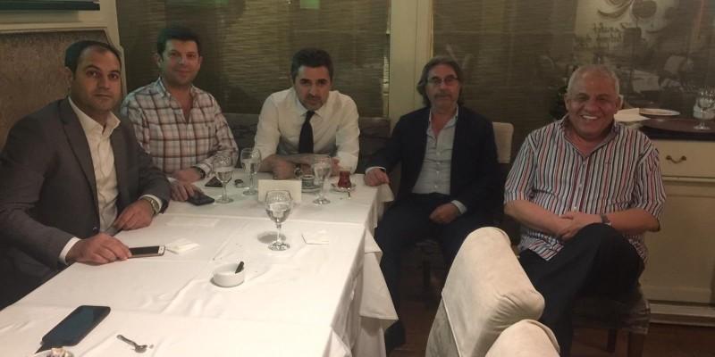 TYAYSD Başkanı Talip Öztürk Zerafet'de İftar yemeği verdi