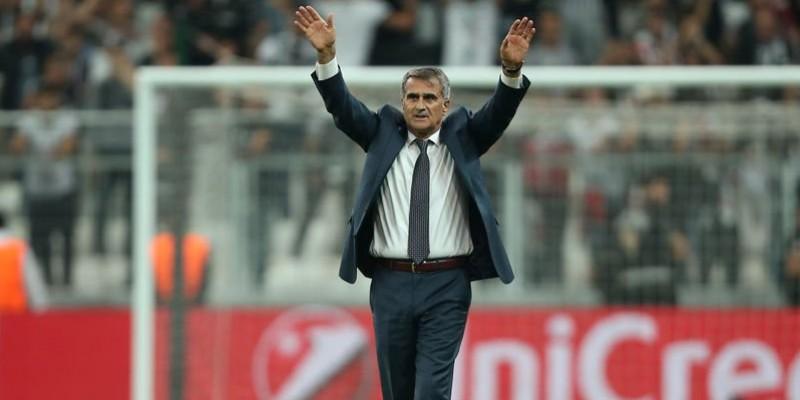 Beşiktaş Kasımpaşa maçı öncesi Serdal Adalı Şenol Güneş'e ne takdim etti ve ne dedi.