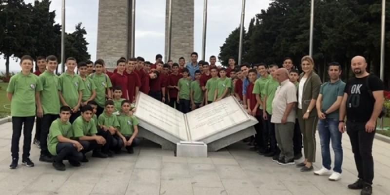 Ekrem Kurt Apranti Eğitim Merkezi'nden Çanakkale ziyareti