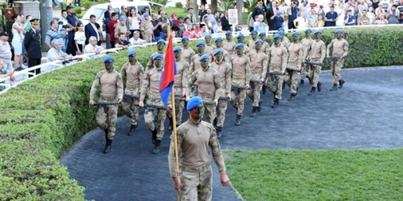 İzmir Jandarma koşusunun kupa töreni ve Jandarma Teşkilatının Kuruluşunun Gösterileri