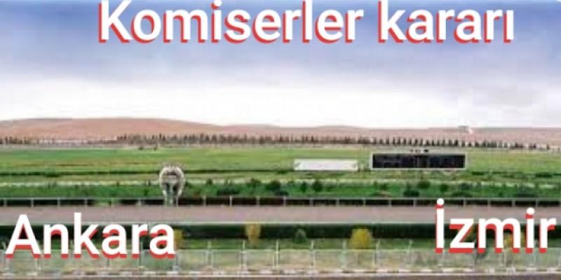 Ankara Ve İzmir Komiserleri artık yarışın startla birlikte her metresini sıkı takipe aldılar