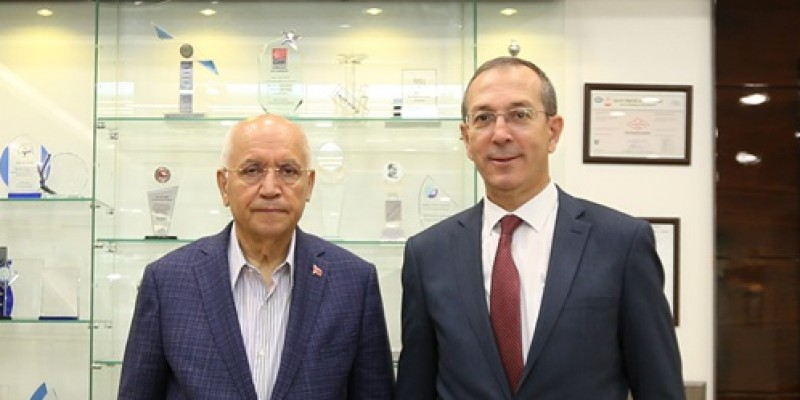Ankara Hipodrom Müdürü Adnan Demirci,  Fethi Yaşar'ı ziyaret etti