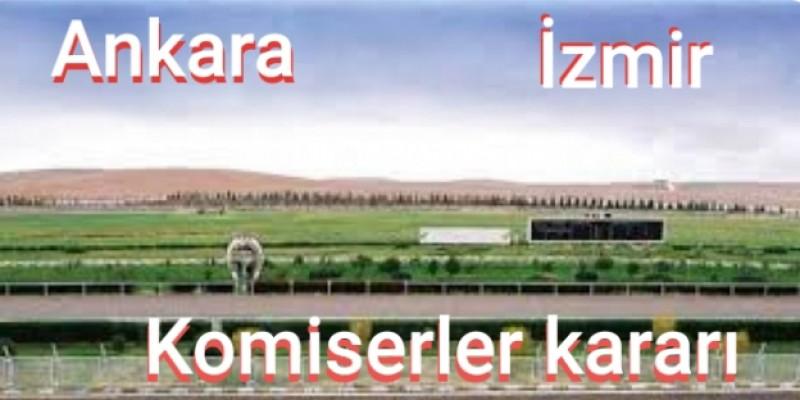Perşembe günü İzmir komiserler kurulu kararlarında cezalar ihtarlar yağdı. Ankara komiserler kururu kararları