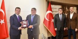 TJK Yönetim Kurulu İstanbul Büyükşehir Belediye Başkanı ve Silivri Belediye Başkanını ziyaret ettiler