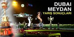 20 Şubat Perşembe günü Dubai Meydan Hipodromu'ndaki Yarış Sonuçları