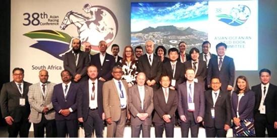 38. Asya Yarışçılık Konferansı Güney Afrika'nın Cape Town şehrinde gerçekleştirildi