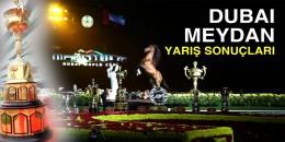 07 Mart Cumartesi Dubai Meydan Hipodromu'ndaki yarışların sonuçları
