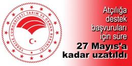Atçılığa destek başvuruları için süre 27 Mayıs'a kadar uzatıldı