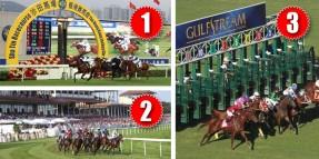 24 Mayıs Pazar günü Hong-Kong SHA TIN, Almanya BADEN BADEN ve Amerika GULFSTREAM PARK Hipodromlarındaki yarışlarda toplamda 5 ALTILI GANYAN oynanacaktır