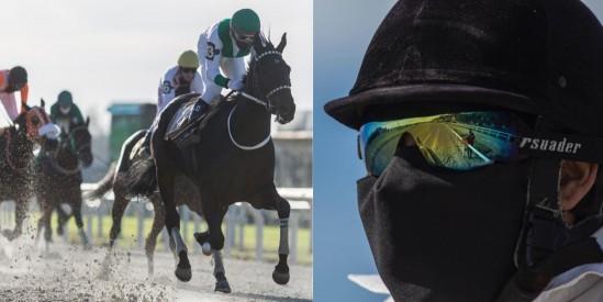 Jokeylerin Yarış içinde takılacak Covid-19 karşı koruma  maske şekilleri değişti.