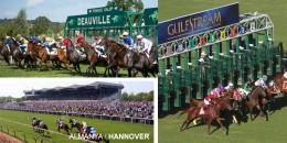Perşembe Deauville'deki yarışlar ile başlayacak program Hannover ve ardından Gulfstream Park ile devam edecektir