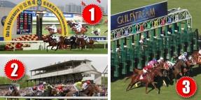 17 Mayıs pAZAR günü Hong-Kong SHA TIN, Almanya KÖLN ve Amerika  GULFSTREAM PARK 3 ayrı hipodromda 5 altılı ganyan oynanacaktır