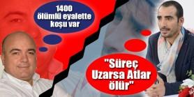 """Selim Kaya Cumhuriyet Gazetesi'nde """"Süreç Uzarsa Atlar ölür"""" , Cem Boşgelmez Fanatik'te 1400 ölümlü eyalette koşu var dedi"""