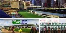 20 Mayıs Çarşamba günü Hong-Kong HAPPY VALLEY, Amerika TAMPA BAY DOWNS ve WILL ROGERS DOWNS Hipodromlarındaki yarışlarda toplamda dört 6'lı ganyan oynanacaktır