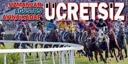 Türkiye'nin at yarışı tahmininde otoritelerinin bir araya geldiği UZMANLAR bölümü Ağustos ayına kadar ücretsiz