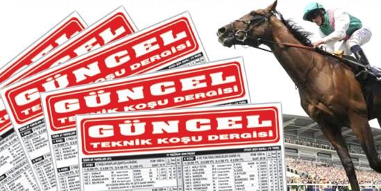 8 Sayfa Güncel At Yarışı Gazetesi Şanlıurfa'dan sonra Kocaeli'de de Bir Numara!!!