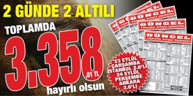 Gazeteniz Güncel Çarşamba İstanbul 2. 6'lısından sonra Perşembe Ankara 2. 6'lısını da doğru tahmin ederek 3.358,01 TL kazandırdı