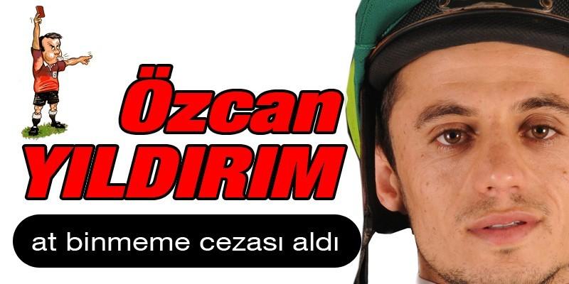 Jokey Özcan Yıldırım hatalı kulvar değiştirdi 7 gün at binmeme cezası aldı Ankara 12 idare Mahkemesinden  yürütmeyi durdurma kararı