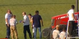 Sadettin Boyraz start gerisinde attan düştü Ambulansla Hastaneye sevk edildi