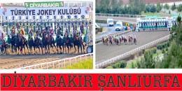 Şanlıurfa ve  Diyarbakır  Hipodromlarına ilave yarışlar eklenmiştir