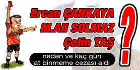 Ercan Çankaya ve Mert Ali Solmaz tartı mahalinde disiplini bozmak sinkaflı sözler kullanmaktan ceza aldılar