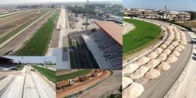 Adana ve Şanlıurfa Hipodromları yarış kum pistleri yenilendi