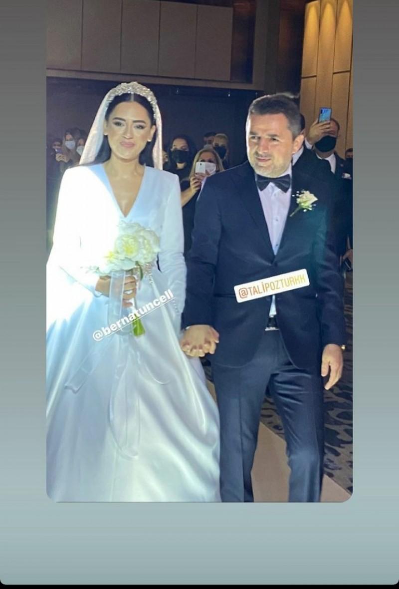 Talip Öztürk Berna Tuncel ile Polat Otelinde Evlendi - LiderForm.com.tr