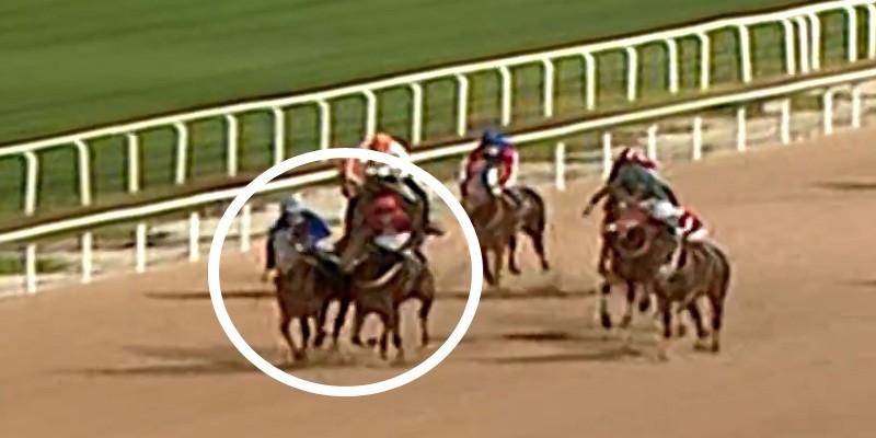 Koşuya protesto çekildi komiserler red etti her iki jokeye at binmeme cezası verdi
